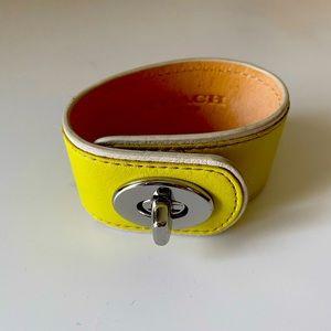 Coach Leather Bracelet Authentic